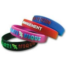 custom silicone wristband, lowest price silicone bracelet,manufactory directly