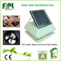 square shroud cover solar air ventilation roof exhaust fan
