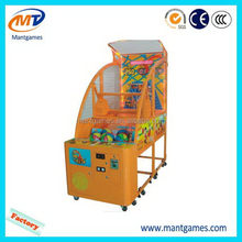 Alibaba china Children basketball machine/discount coin operated games for kids