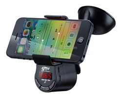 Bluetooth FM Transmitter MP3 Player with Phone Holder