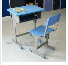 Colorful School Desk and Chair Set Fit for Children