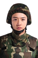 UHMWPE Fiber Bullet Proof Helmet for military combat