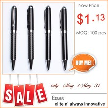 High End Promotional Metal Roller Pen with Customized Logo for Advertising Gift