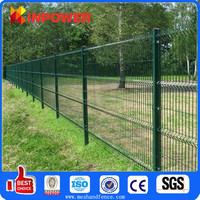 Nature Pressure Treated Wood Type and Fencing, Trellis & Gates Type powder coated steel wie fence