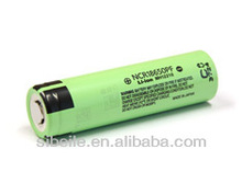 For panasonic r6 battery charger r6 battery NCR18650PF panasonic rechargeable battery 3.7V