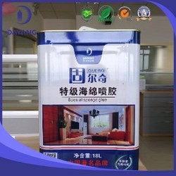 100% good quality spray glue for sponge for mattress/manufacturer sells directly