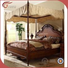 Muebles de lujo king size cama, Royal clásico juego de dormitorio