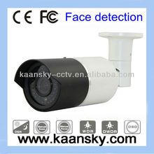Surveillance high resolution sony 700tvl face detection weatherproof security ir bullet cameras