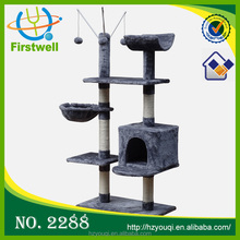 2015 hot selling small cat trees top sale wooden cat furniture for training