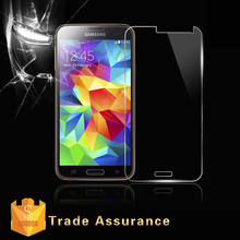 Japan Glass 100% Perfect Size 0.33mm Ultra-thin Anti-Shatter Tempered Glass Screen Protector/screen guard for Samsung galaxy S5