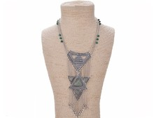 Europe and the United States to restore ancient ways exaggerated personality necklace Brazil's style