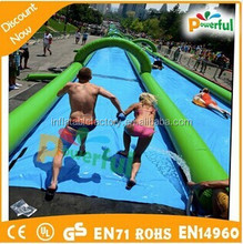 for kids and adults 1000 ft slip n slide inflatable slide the city