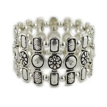 2015 New Design Handmade fashion vintage elastic bracelet wholesale