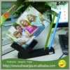 acrylic photo frame with pen holder acrylic pen display stand