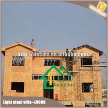 structural steel house