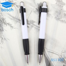 Gift plastic fancy ballpoint pen imprinted promotional plastic ball pen