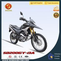 Pocket Bike Air Cooled Dirt Bike 4 Stroke 200CC Bike SD200GY-13A