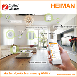 Portable Wireless Network Home Automation Smart Home System