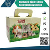 Crate Cardboard House CAT Toy Playhouse Pet Box Hideaway Carrying Carrier carton box