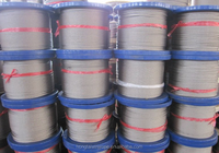Stainless steel wire rope 316 7x7 3.2mm 3000m