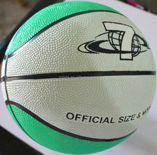 High quality hotsell rubber cheap leather basketballs