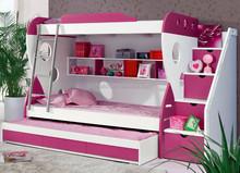 Children Furniture Wooden Bunk Bed