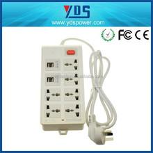 Best shenzhen manufacturer usb charger 12v dc power outlet socket 110v 250v home outlets for new building