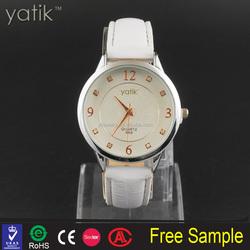 dubai wholesale market leather cord wristwatch japan movt quartz watch design king quartz watches
