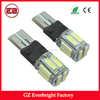 High Power auto led T10 10 smd 7014 led t10 canbus with wholesales price