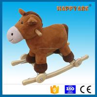 baby plush rocking animal toy camel