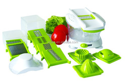 2015 NEW Quick Plastic Salad Spinner, Vegetable And Salad Chopper