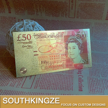 2015 bank of England fifty pounds gold printing banknote