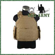 militar spc molle chaleco de la armadura