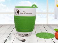 Haonai handmade custom coffee mug , porcelain travel mugs with lid