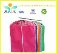 Cheap paice Nonwoven Garment packaging bag