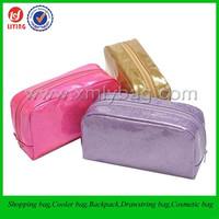 Colored mini PVC cosmetic bag