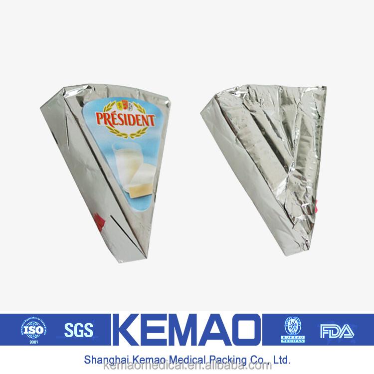 alüminyum folyo üçgen peynir sarma tedarikçisi