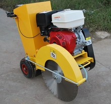 9hp 13hp concrete cut off machinery, hand guided concrete cutter