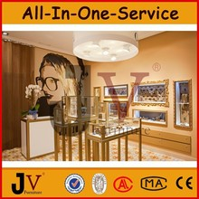 Retail shop jewelry showroom displays with professional design
