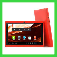 "7"" smart tablet pc q88 with cortex a9 dual core tablet pc android tablet pc A23"