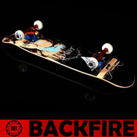 Backfire skateboard gas powered skateboards