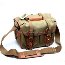 12 in pu leather goods camera bag