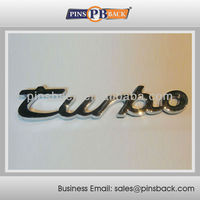 Die casting Customized Custom metal badges / emblem for Car