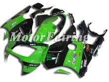 Motorcycles Fairings for kawasaki ninja zx12r fairing kits 02-04 Green Black