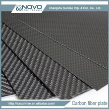 China Factory Directly Sale Glossy Twill Surface 3K Carbon Fiber Plate