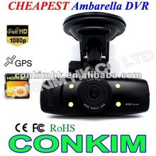 2012 Cheap Car câmaras de vídeo com infravermelho Night Vision Blackbox para carro
