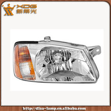 Hot sale ABS material halogen 12v accent 2000 headlight