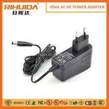 9v 1a power adapter for MID security camera led driver etc
