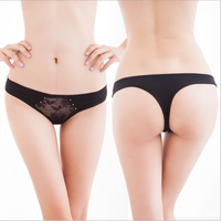 Latest Panty Designs Women Thong Panties Wholesale Adult Girls Sexy Thong Panties 100% Cotton Underwear