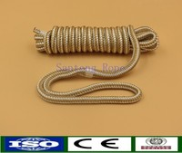 High quality and strength twisted braided rope for boat